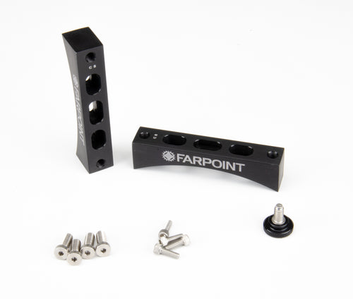 D-Series Radius Blocks and Screw Kits Only (no bars)