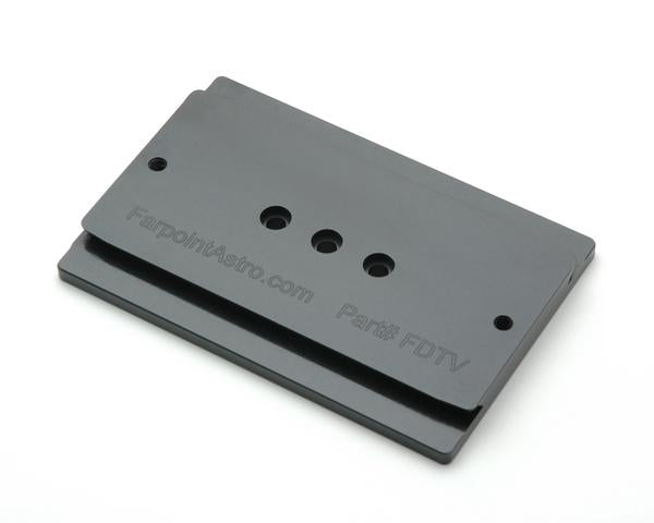 D-Sized Dovetail Plate for TeleVue Clamshell (FDTV)