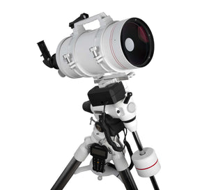 FirstLight MAK152mm White Tube Maksutov-Cassegrain with EXOS-2 Mount White with GOTO (FL-MC1521900EXOS2GT)