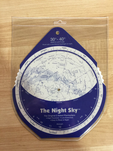 The Night Sky Planisphere Star Finder - Large