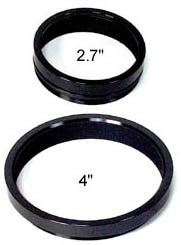"Gelatin Filter Holders for 2.7"" and 4"" Field Flattener"