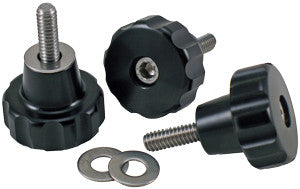 1/4-20 Machined Knob Kit, set of 3 (M1485KBKIT)