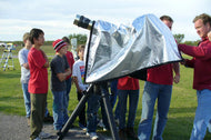 The TGSO Solar Observing Hood