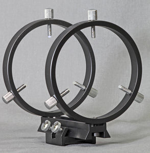 80mm Finder Rings for SV Clamshells, Flat or Curved Surface (R080AT)
