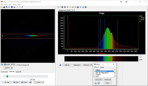 RSPEC Astronomical Spectroscopy Software