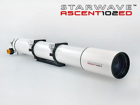 Starwave ASCENT 102ED F11 Refractor Telescope Geared Focuser