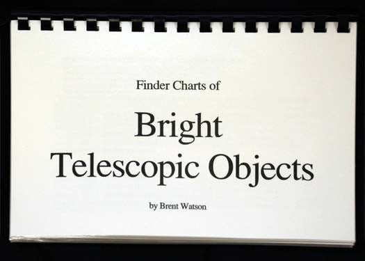 Bright Telescopic Objects - Telrad Finder Charts