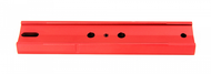 Vixen-Style 8 inch Dovetail Plate – Red (M-PVR)