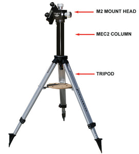 Extension Column for M2/M2C Mount to Stellarvue Tripod (MEC002)