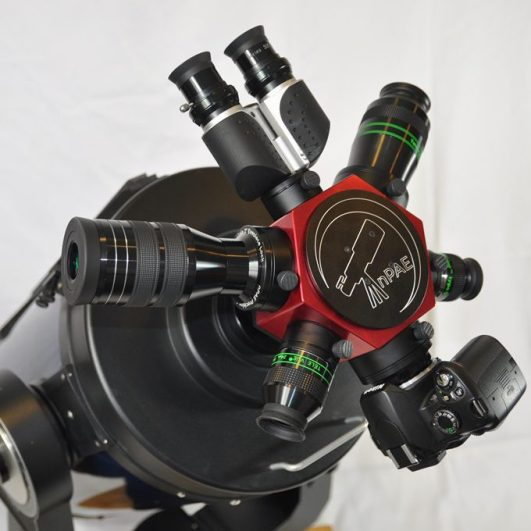 Rotating Eyepiece Turret