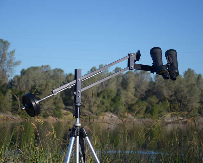 Universal Binocular Mount, with Balance Weights (FP130)