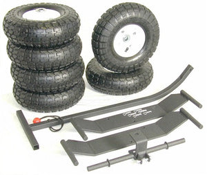 "10"" Pneumatic Large Wheels (Separate Purchase)"