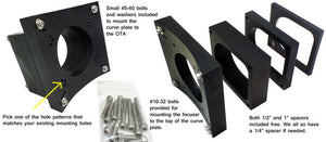 Universal Install Kit for CR Focusers