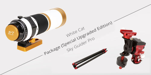 WhiteCat & iOptron Skyguider Pro Package - Limited Edition