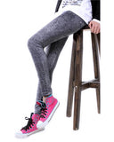 Black Ankle Grazer Skinny Leggings TR0290138