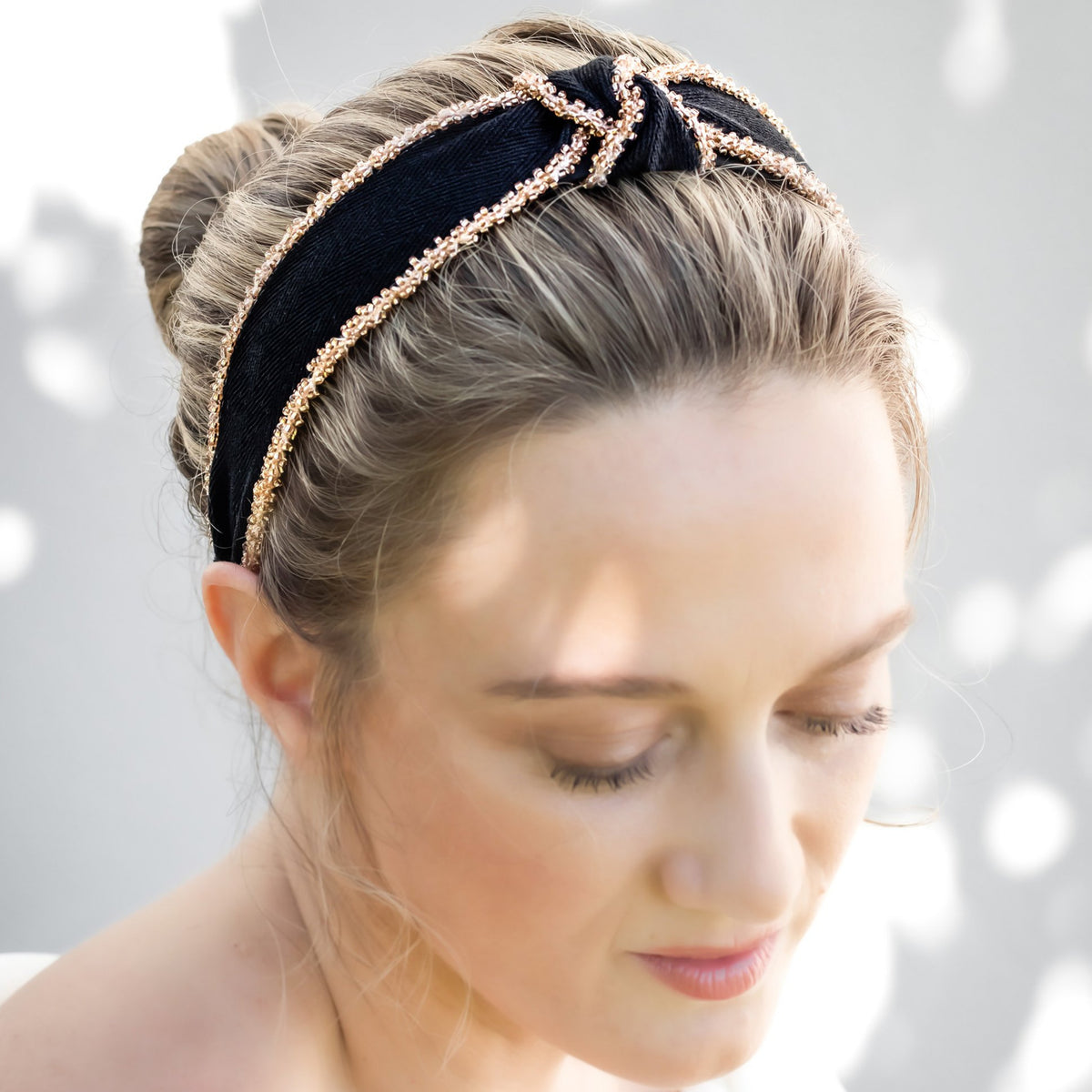 Headbands by IDALIA - Margot - Black Trim