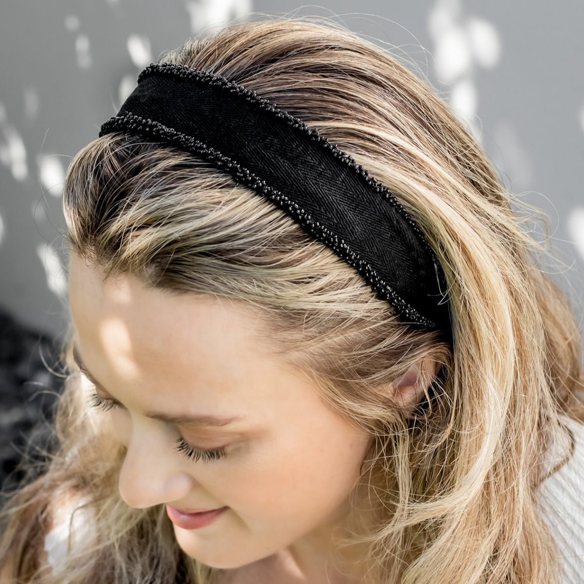 Headbands by IDALIA - Sophie - White Trim