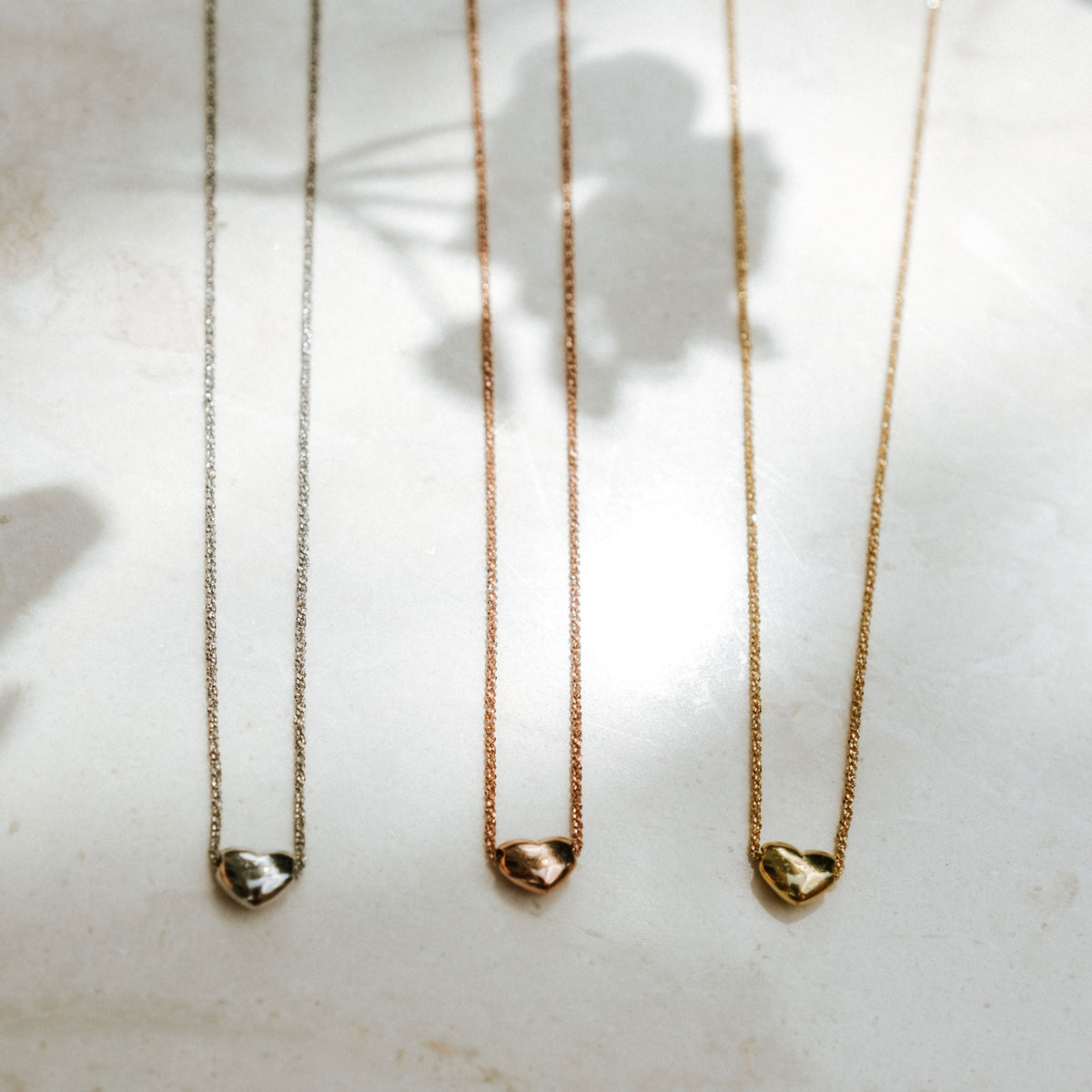 Idalia Jewelry-Silver Rose Gold & Gold Gratitude Necklace