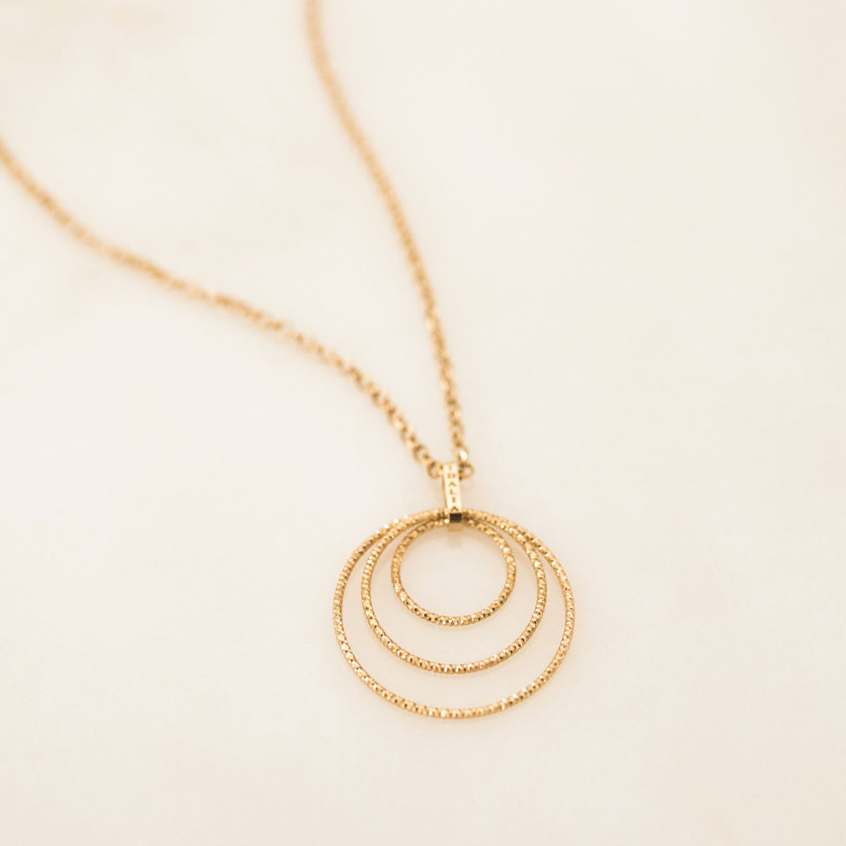 The Circle Trio Necklace