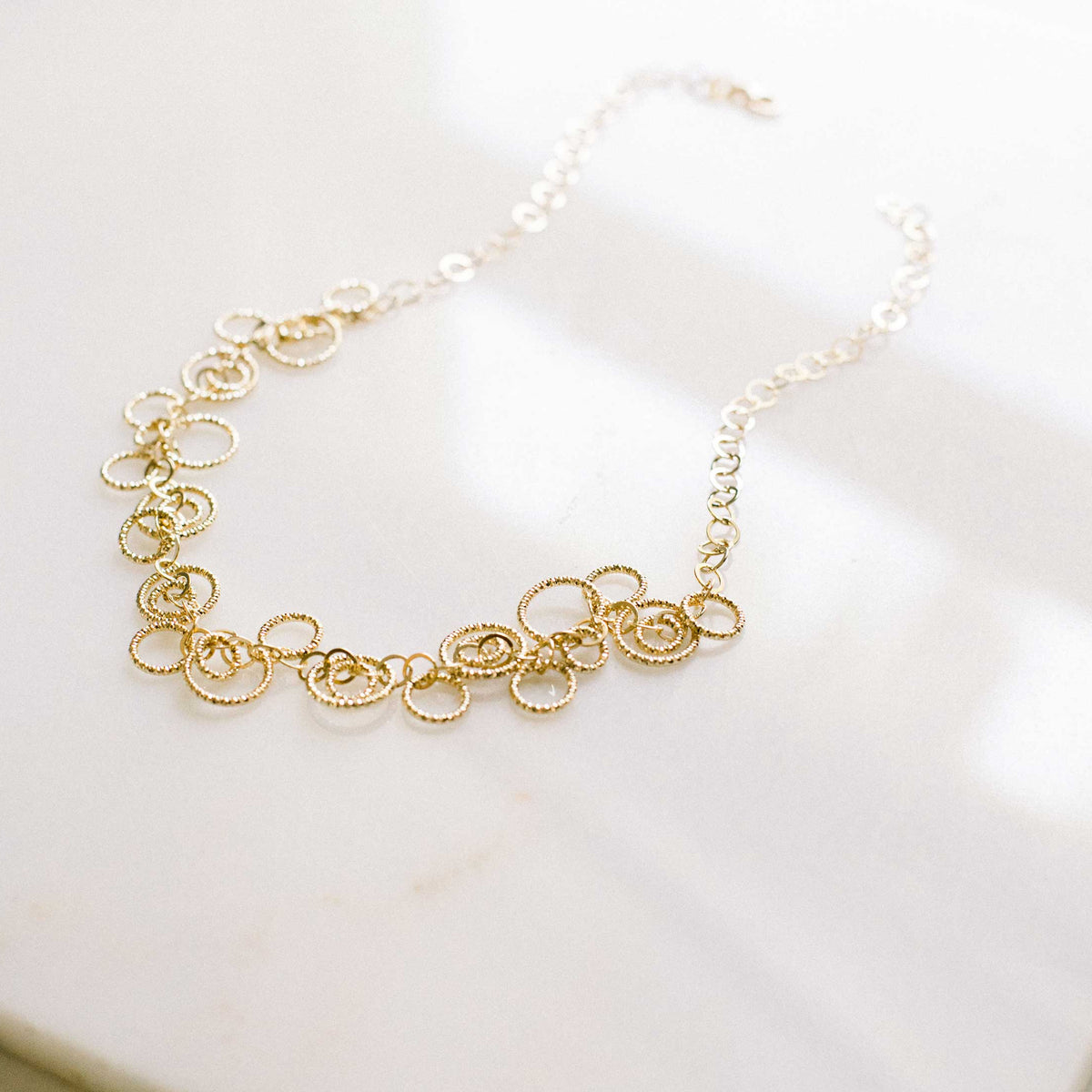 The Circle Chain Link Necklace