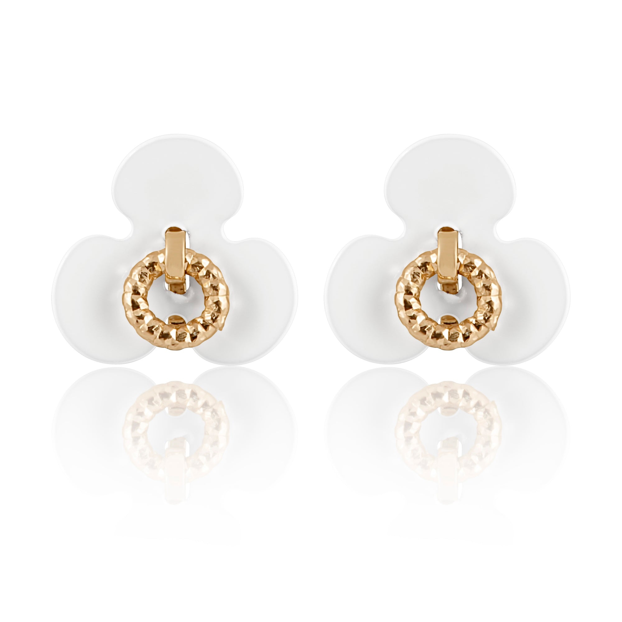 Idalia Jewelry-The Flower Stud Earrings