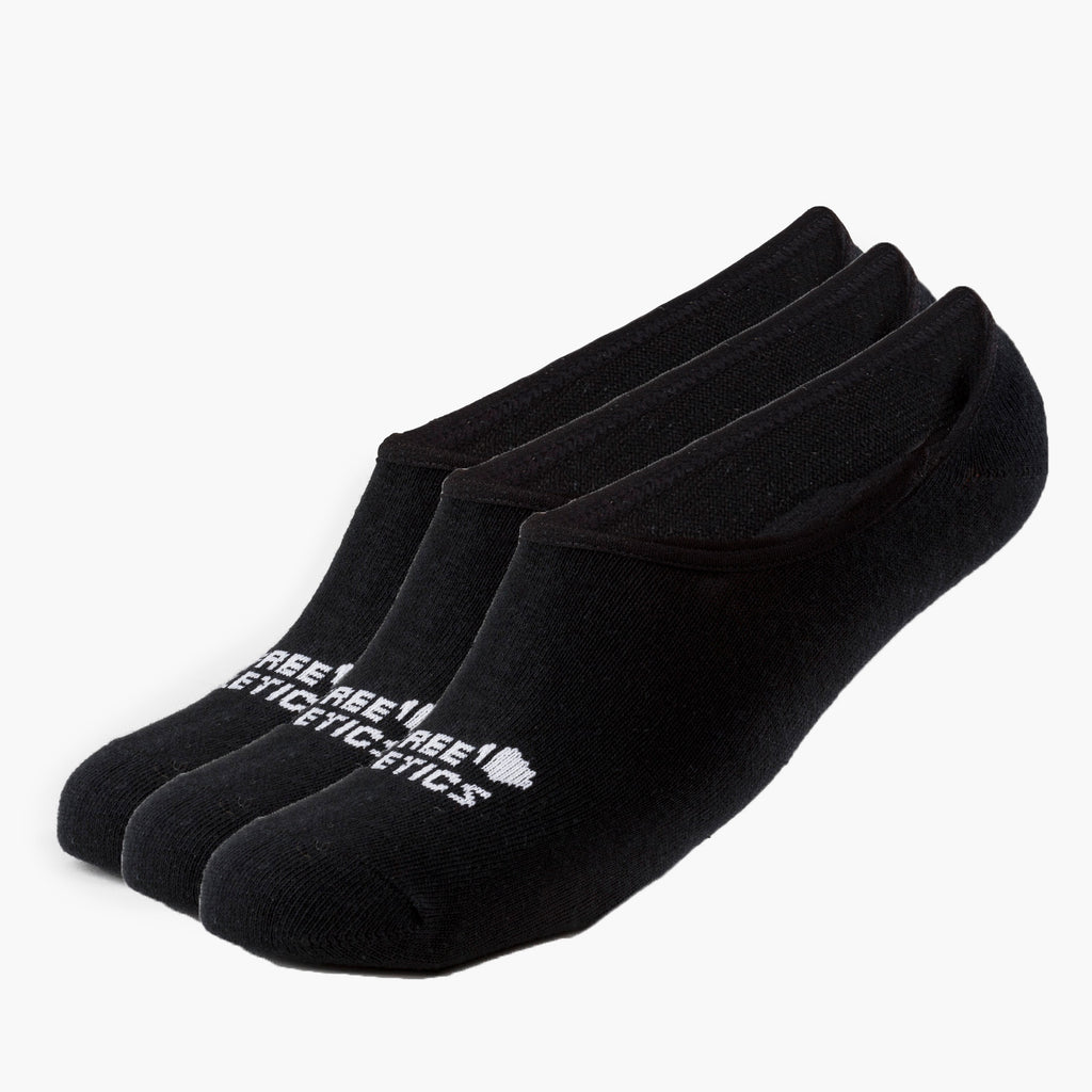 Urban Athlete Socks Black 3 Paires