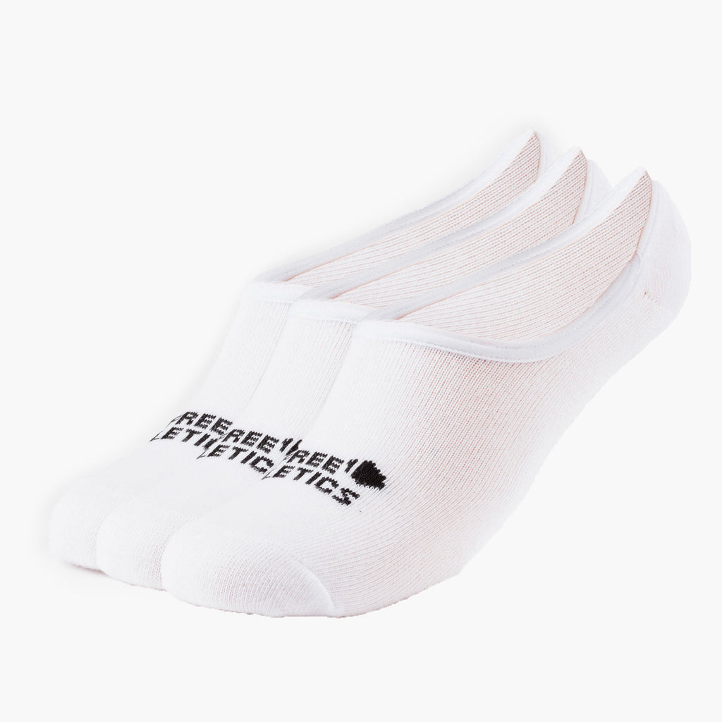 Urban Athlete Socks White 3 Paires