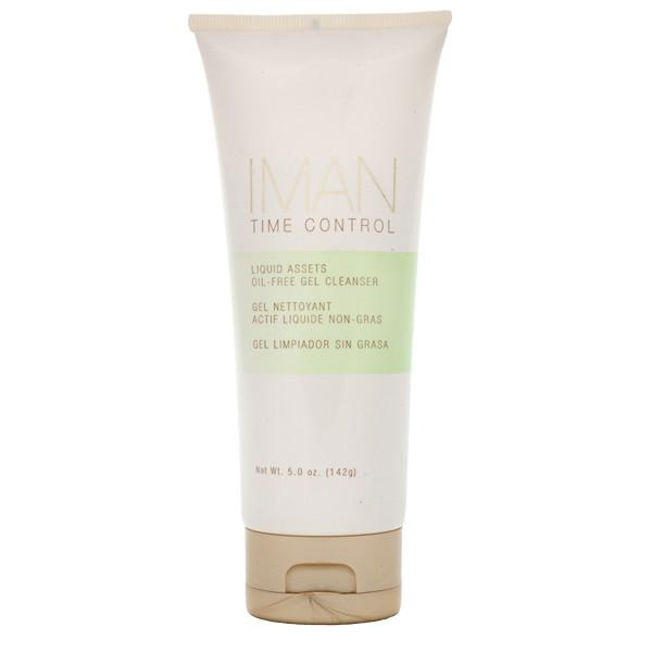 Time Control Liquid Assets Oil-Free Gel Cleanser-Daily Facial Care-IMAN Cosmetics