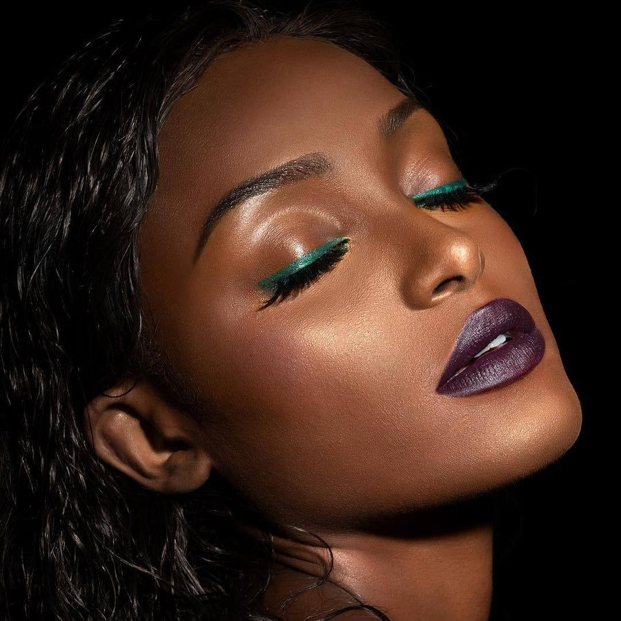 Fetish - Purple lipstick for brown skin