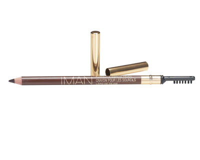 Perfect Blackest Brown Eyebrow Pencil-Eye Makeup-IMAN Cosmetics