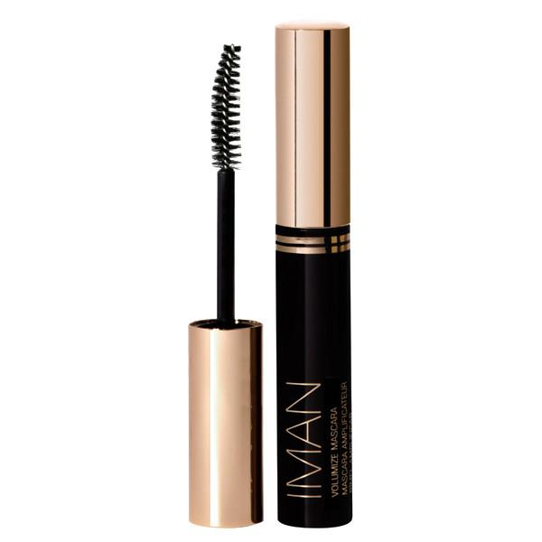 IMAN Cosmetics Volumize Mascara Black Ink