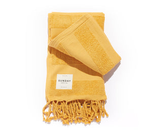Golden Beach Towel