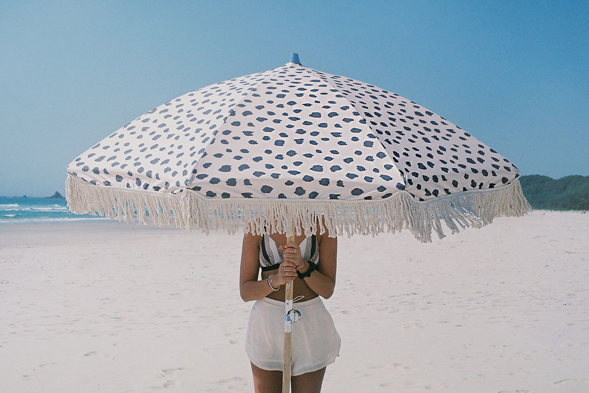 Black Sands Beach Umbrella ☼ Sunday Supply Co.
