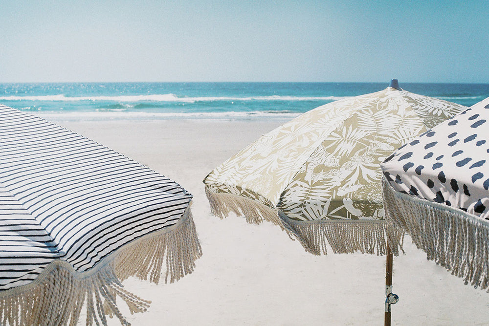 Jungle Canopy Beach Umbrella ☼ Sunday Supply Co.
