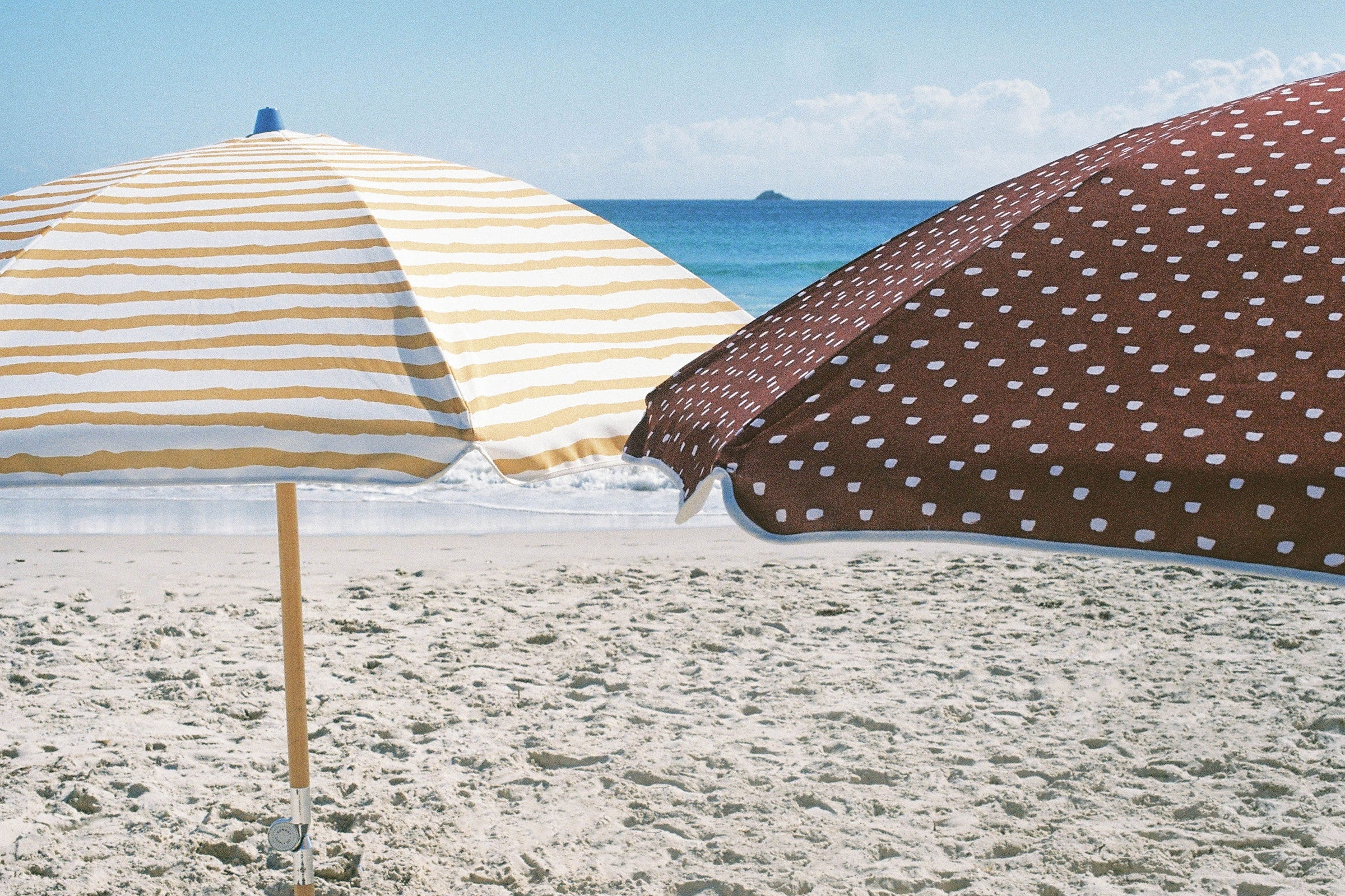 Pebbly Beach Beach Umbrella ☼ Sunday Supply Co.