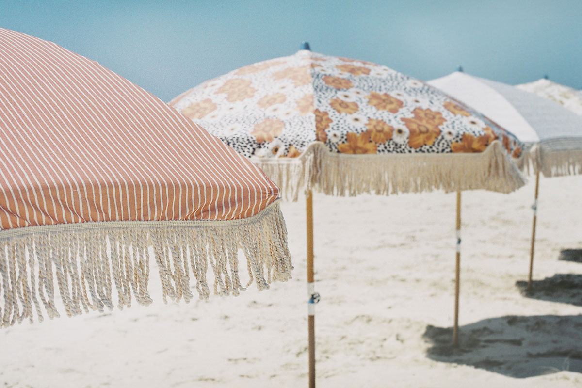 Summer Deck Beach Umbrella ☼ Sunday Supply Co.