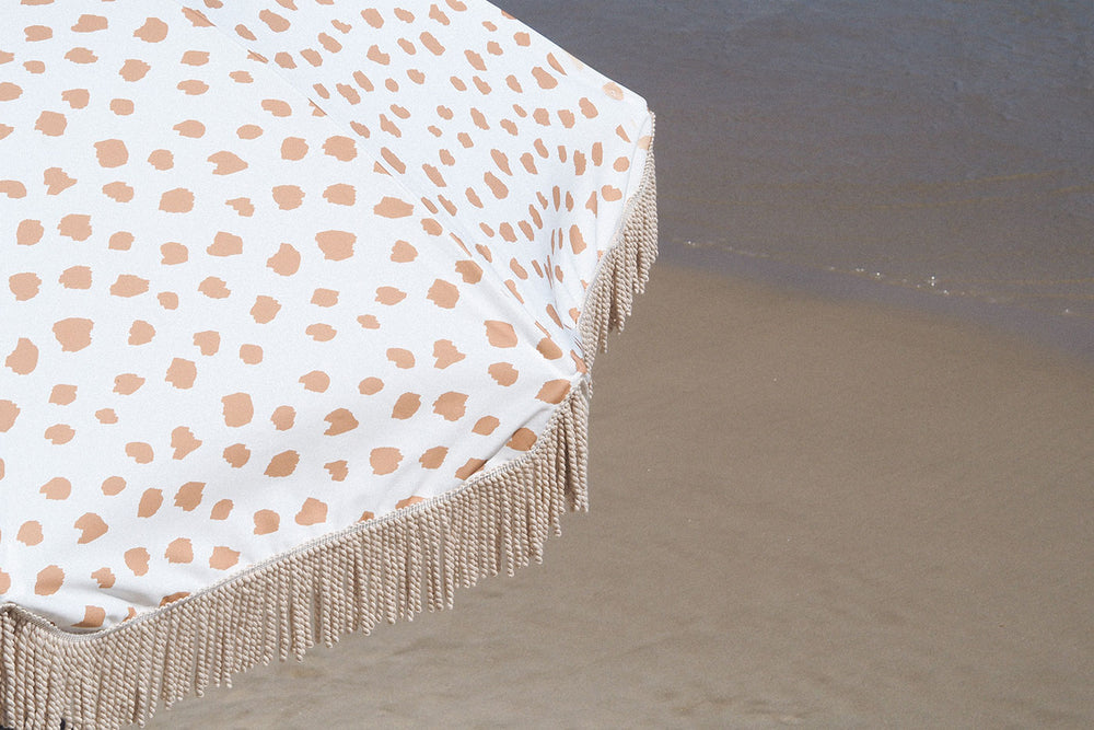 Golden Sands Beach Umbrella ☼ Sunday Supply Co.