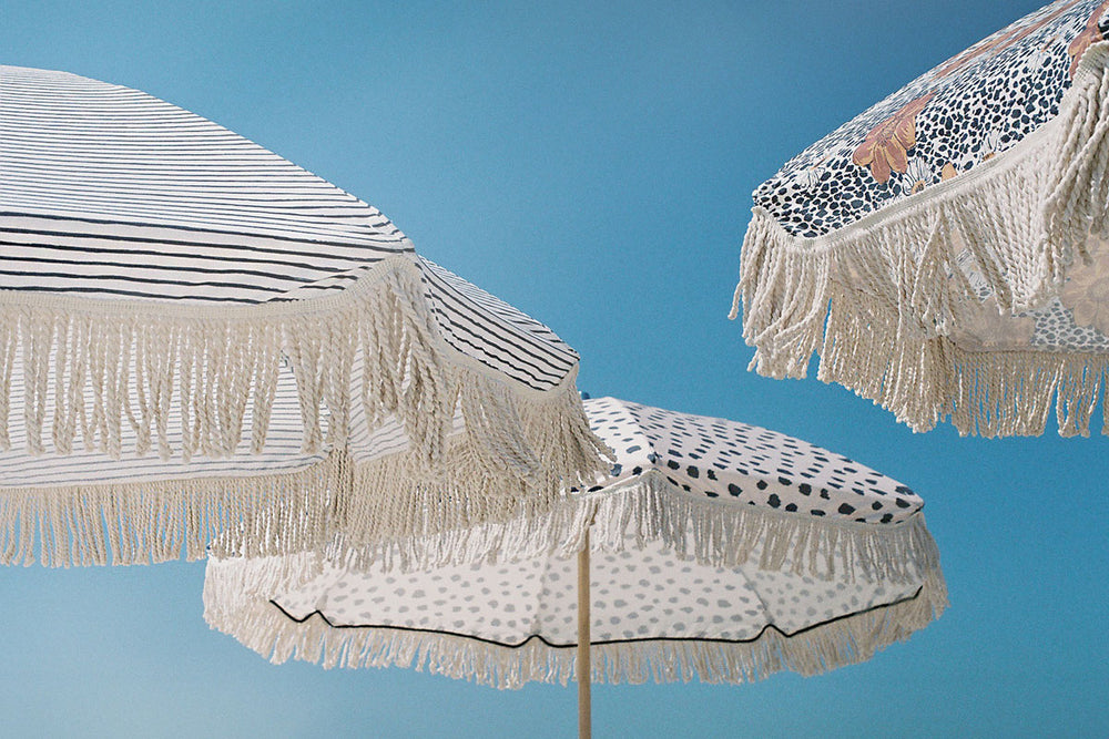 Natural Instinct Beach Umbrella ☼ Sunday Supply Co.