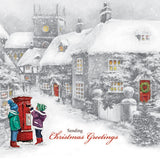 """Christmas Service / Letter to Santa"" Christmas Cards - Pack of 10"