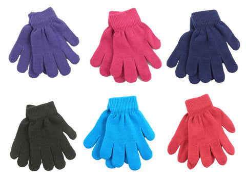 NEW  Kids Thermal Magic Gloves - One Size - Girls / Boys