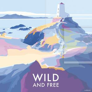 """Wild and Free"" by Becky Bettesworth- Blank Eco Friendly Greeting Card (each)"