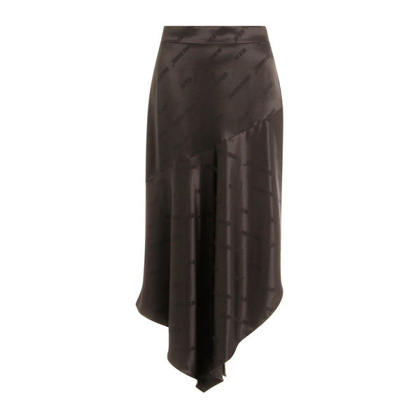 Coster Copenhagen ASYMMETRIC SKIRT Skirt Black - 100