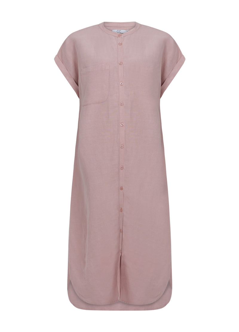 CC Heart CC HEART LINEN DRESS Dress Old rose - 690