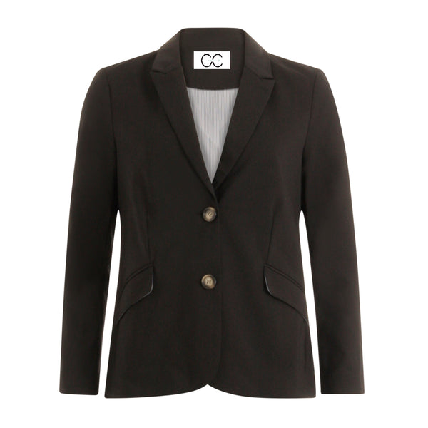 CC Heart CC Heart long blazer Jacket Black - 100