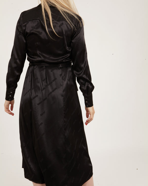 Coster Copenhagen DRESS W. BELT Dress Black - 100