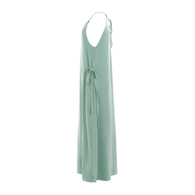 Coster Copenhagen DRESS W. TIE STRING Dress Jade green - 438