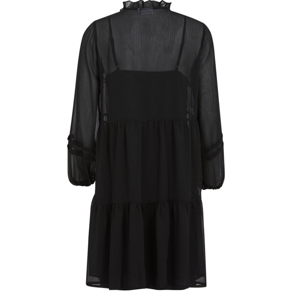 Coster Copenhagen DRESS IN RECYCLED POLYESTER Dress Black - 100