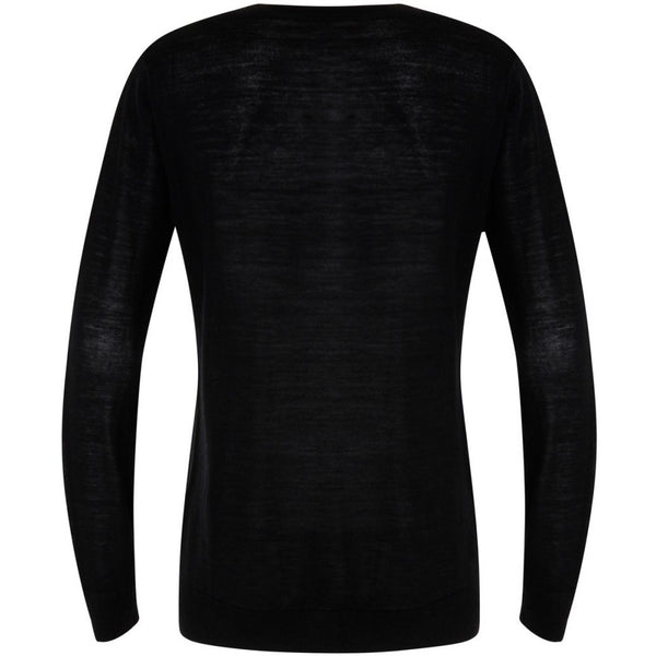 Coster Copenhagen Round neck knit top merino (Basic) Knitwear Black - 100