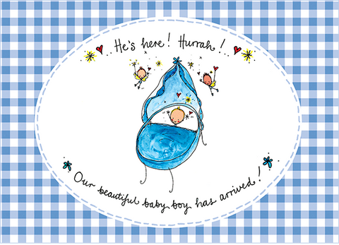 He's here! Hurrah! Our gorgeous baby boy has arrived! - Juicy Lucy Designs  - 1
