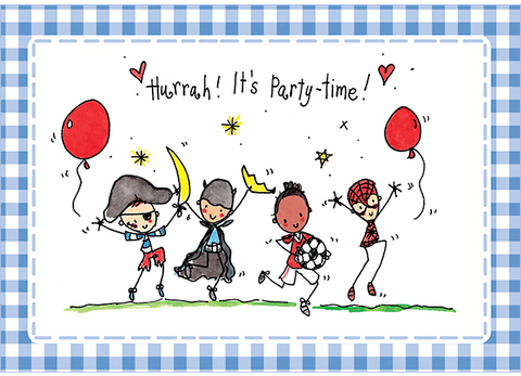 Hurrah! It's party time! - Juicy Lucy Designs  - 1
